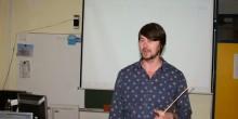 Obisk danskega učitelja na naši šoli